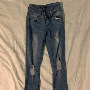 High Waisted Jeggings From Bluenotes